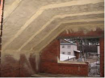 Roof thermal insulation in Astana