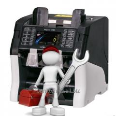 Service and guarantee maintenance of the cash