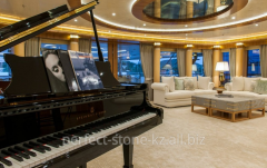 Design of a turnkey interior for private yachts
