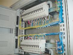 Assembly and installation of electric switchboards