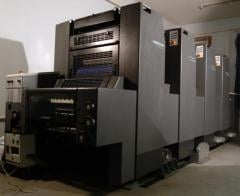 Large-format press
