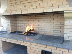 Fireplaces and Garden Furnaces of the Barbecue