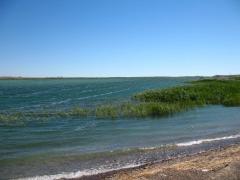Fishing on Lake Balkhash