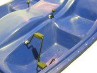 Ремонт усиление лодок бамперов матриц мототехники