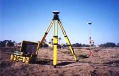 One-time departure of geodetic crew on objec