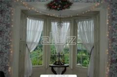 Design and tailoring of all types of curtains