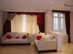 Design of curtains in Astana