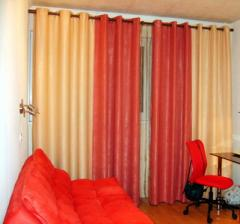 Design and tailoring of all types of curtains in