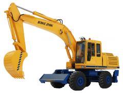 Rent of excavators