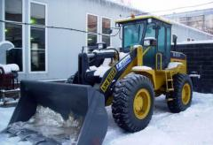 Lease of the wheel loader