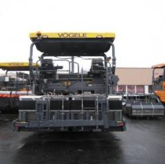 Rent of an asphalt paver