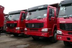 Lease of dump trucks