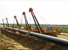Строительство магистрального газопровода Казахстан
