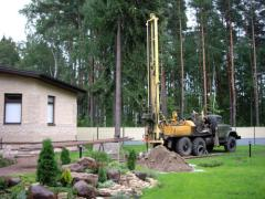 Drilling and drilling prospecting