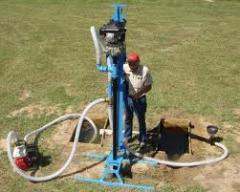 Services in drilling and installation of