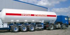 Продажа сжиженного газа потребителям