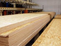 Tests of products of the woodworking industry
