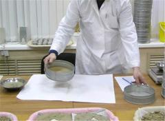 Tests of construction materials