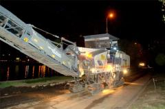 Работы по строительству дорог