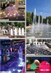 Поставка оборудования для фонтанов