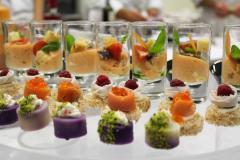 Buffet receptions
