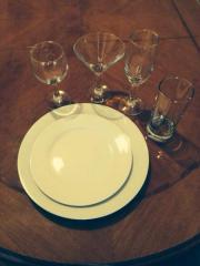 Rent of banquet ware