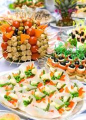 Buffet reception