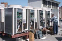Installation of VRV systems