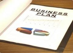 Development of business plans, the operated