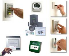 Mounting of security systems