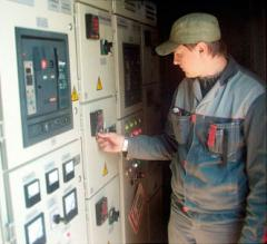 Commissioning in electrical equipmen