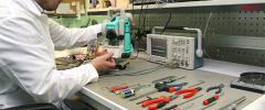 Repair and checking of metering devices