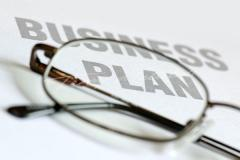 To make the business plan with attraction of