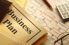 Drawing up the business plan, providing import of