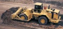 Repair of the mining equipmen