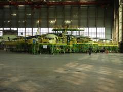 Repair of airfield equipmen