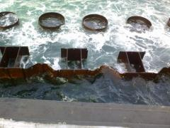 Repair of hydraulic engineering constructions