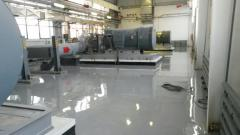 Bulk polymeric antistatic floors