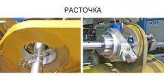 Simultaneous coaxial boring of several openings