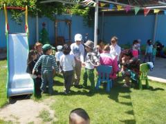Kindergartens of the compensating look (Almaty),