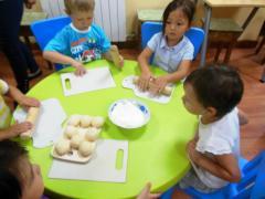 Home kindergarten, Toasted pies Kindergarten
