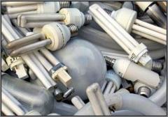 Утилизация отработанных люминесцентных ламп