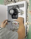 Installation of electric meters