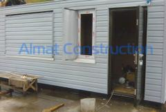 Case covering vinyl siding or porcelain tile