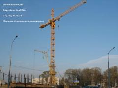 Dismantle of a tower crane