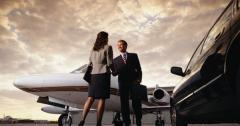 Meetings at the airpor