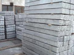 Device of monolithic concrete and steel concrete