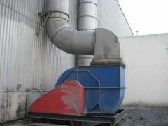 Замеры вентиляционной установки по объемам воздуха