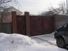 Ворота консольные