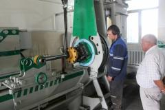 Bench tests of hydraulic cylinders